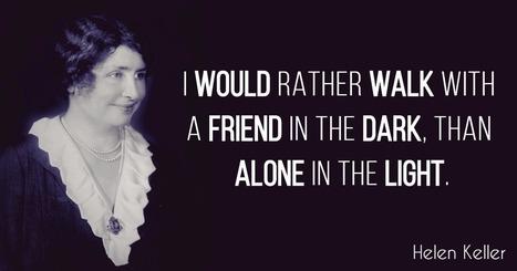 40 Famous Helen Keller Quotes | Inspirational Q...