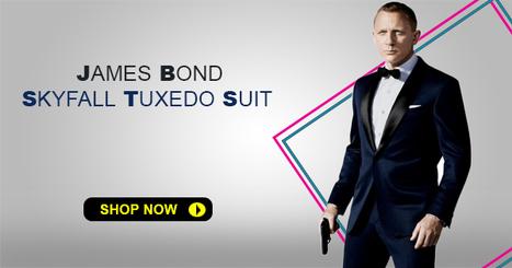 James Bond Skyfall Tuxedo Suit Celebrities Su