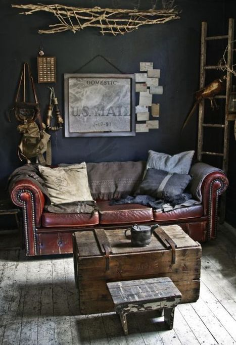 Leather Sofas for All: Uber-Chic to Mega-Comfortable Couches for Every Style | Designing Interiors | Scoop.it