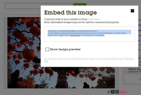 WordPress: Announcing New Embed Support for Getty Images | 21st Century Literacy and Learning | Scoop.it