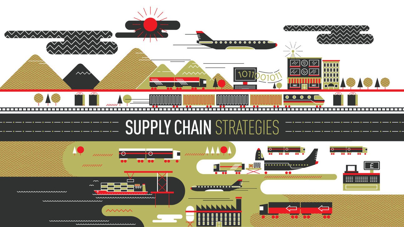 supply chain at coffee shop