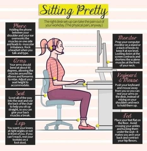 Sitting Pretty [Infographic] | Visualisation | Scoop.it