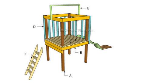 Backyard Fort Plans | Free Outdoor Plans - DIY ...