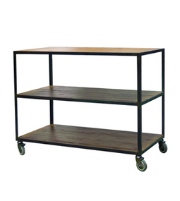 Dadra muebles vintage estilo industrial hierr for Vitrina estilo industrial