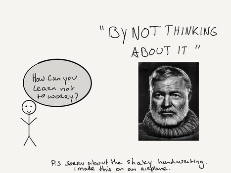 The Most Important Working Habit Of Hemingway: Stop At The Height of Your Day | Good News For A Change | Scoop.it