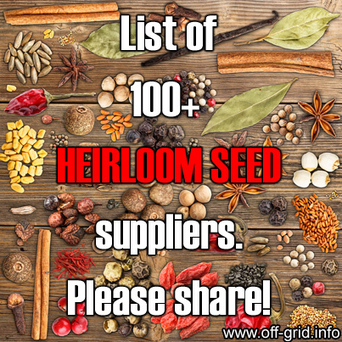 Off Grid Info - Food Independence - Where To Get Heirloom Seeds - Non-GMO Seeds - Organic Seeds | Gardening in the neighborhood | Scoop.it