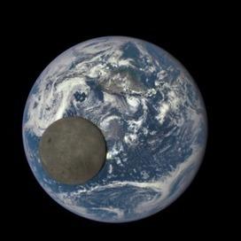 La Terre et la Lune en une seule image   Communication à l'ère du numérique   Scoop.it