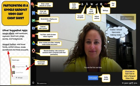 Google Hangout for Teachers- A Comprehensive Tu... | 21st Century Teacher Librarians and School Libraries | Scoop.it