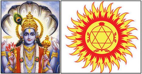 Image result for விஷ்ணுவின் சுதர்சன சக்கரம் வரலாறு