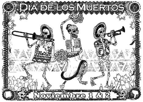 Pinto Dibujos Día De Los Muertos Para C