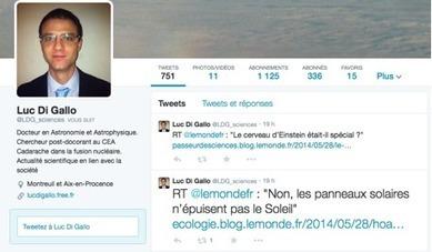 Twitter : une passerelle entre les physiciens et le grand public | Sciences & Technology | Scoop.it