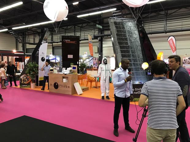 Technitoit sur TV 10 Angers au Salon de l'habitat ! | La Revue de Technitoit | Scoop.it