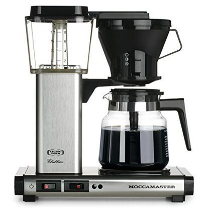 Technivorm moccamaster 59691 kb 741 ao 10 cup 1 technivorm moccamaster 59691 kb 741 ao 10 cup 125 liter auto drip stop brew basket coffee brewer with glass carafe 40 ounce brushed silver fandeluxe Image collections