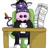 Il notaio e la mucca viola