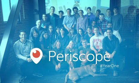Periscope compie un anno con 200 milioni di live broadcast | InTime - Social Media Magazine | Scoop.it