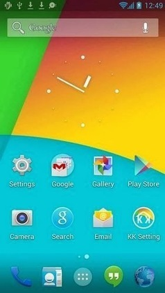 Android 4.4 Launcher for all smartphones with Android 4.0+ [Download] | Hot Technology News | Scoop.it