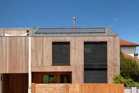 [inspiration] Une maison à énergie positive ossature bois à Bordeaux | Je, tu, il... nous ! | Scoop.it