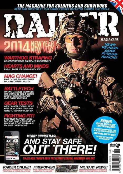 RAIDER Magazine // Volume 6 Issue 9 out now! - Airsoft & Military News Blog by Airsoft Community Europe | Airsoft Showoffs | Scoop.it