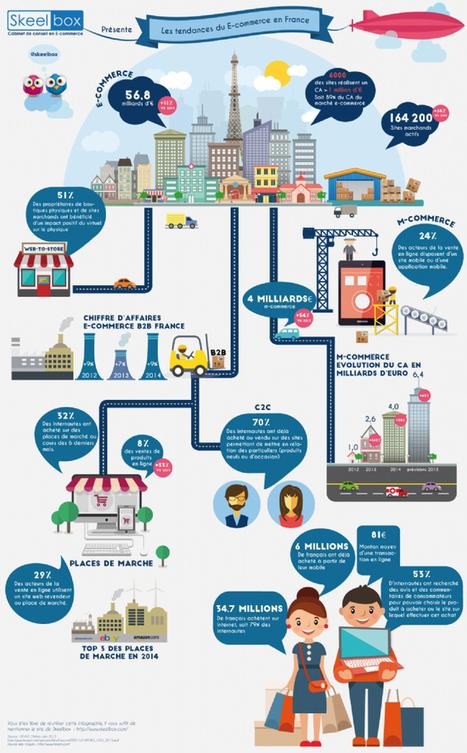 Infographie : Où en est le e-commerce en France en 2015 ? | Actu et stratégie e-commerce | Scoop.it