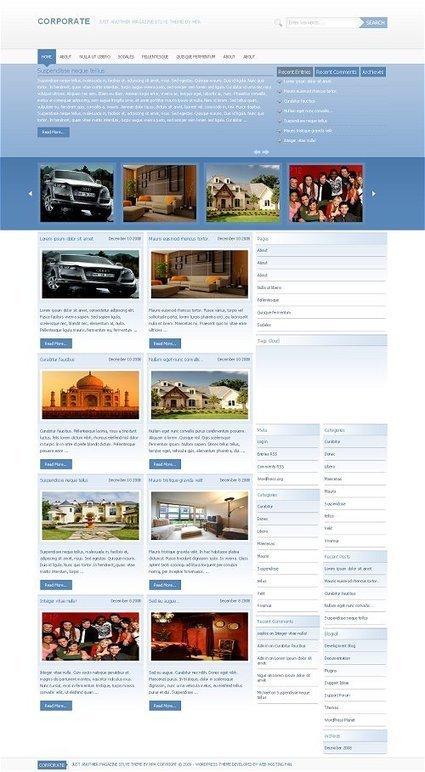 25 Best Free Wordpress Themes | EliteFreelancin