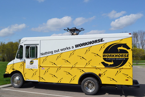 Workhorse pourrait menacer Amazon avec ses drones livreurs | Soutenir les start-ups! | Scoop.it