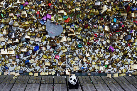 Paris Officials Ask Tourists to Ditch the 'Love Locks' and Take a Selfie Instead   xposing world of Photography & Design   Scoop.it