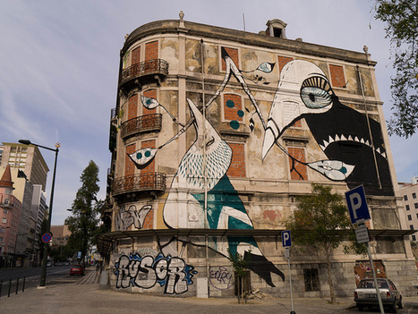 The Street Art of Lisbon | Culture and Fun - Art | Scoop.it