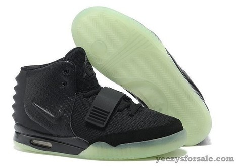 Nike Air Yeezy 2 Black Black  Air-Yeezy-2-06  f151fba21