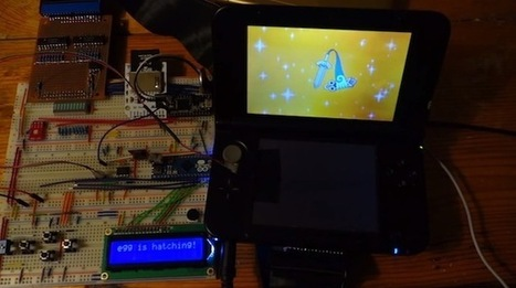 Autonomously catch and breed shiny Pokémon using an Arduino - Geek | Raspberry Pi | Scoop.it
