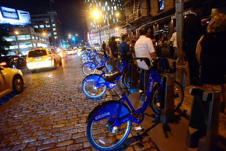 Riding Away From a Bar Crawl With Citi Bikes | Spatial Analysis | Scoop.it