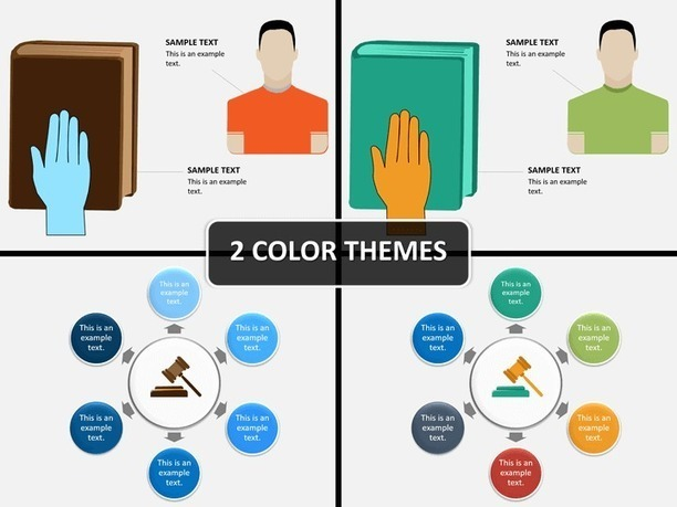 Law And Justice Powerpoint Template Powerpoin