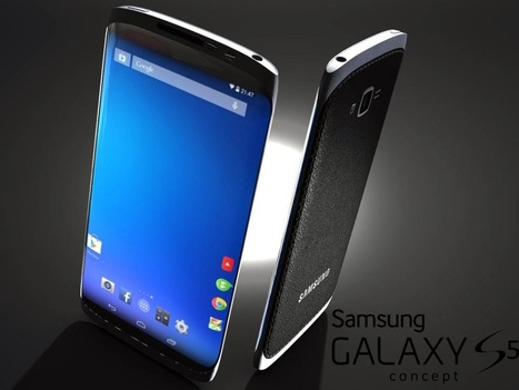 Samsung GALAXY S5 & GALAXY Note 4 concept pictures based on design patents published | Trending | Scoop.it