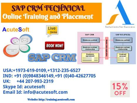 online sap crm technical training' in Online Training and