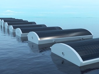 "Floating ""Solar Cucumbers"" Form Artificial Reefs That Desalinate Sea Water (Video) 