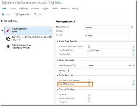 The Maven build task now supports PMD analysis out of the box | Visual Studio ALM | Scoop.it