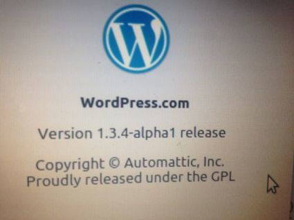 #V134alpha1 #wordpress #Automattic @barkinet#fb — Barki Mustapha   Chromium   Scoop.it