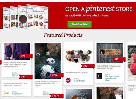 Turn Your Pinterest Board Into an Online Store with Shopinterest | Online Business Models | Scoop.it