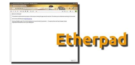Etherpad, editor de textos web colaborativo en tiempo real para Ubuntu | Web Hosting, Linux y otras Hierbas... | Scoop.it