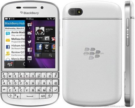SFR : le BlackBerry Q10 plus vendeur que le Galaxy S4 - Le Journal du Geek | Richard Dubois - Mobile Addict | Scoop.it