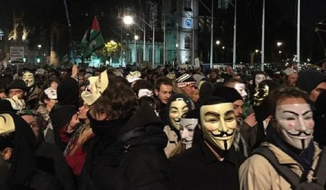 Mask Marching Anonymous In Houses of Parliament Yesterday. | News From Stirring Trouble Internationally | Scoop.it
