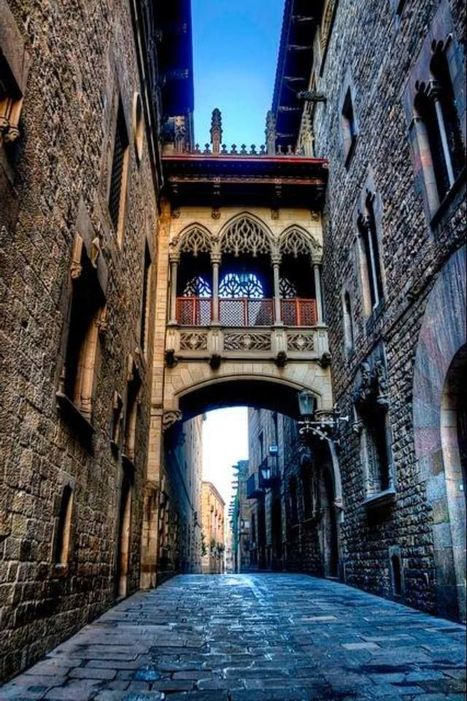 Ancient bridge (Casc Antic) Barcelona Spain.... | Planet Earth | Scoop.it