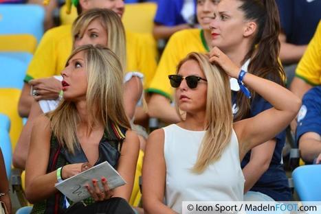 Le Zap Foot - Les WAGS Bleues étaient au Maracana (Photos) | Football , actualites et buzz avec fasto-sport.com | Scoop.it