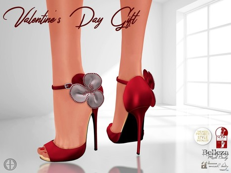 Valentine's Day Vista Heels Red Group Gift by Hilly Haalan | Teleport Hub - Second Life Freebies | Second Life Freebies | Scoop.it