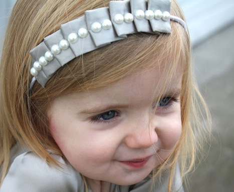 craftiness is not optional: pleated headband tutorial | Easy Sewing Projects for Kids | Scoop.it