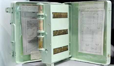 Un invento español patentado en 1962: la enciclopedia mecánica. | contentcurator tools | Scoop.it