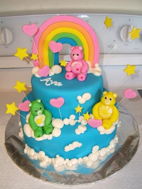 Amazing Care Bears Birthday Cake And Cupcake Ideas Mo Birthday Cards Printable Benkemecafe Filternl