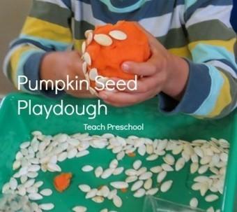 Pumpkin seed play dough   Teach Preschool   Scoop.it