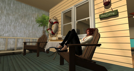My Secondlife.............so far. - Footprints in the virtual sand | Virtual Worlds and Online Education | Scoop.it