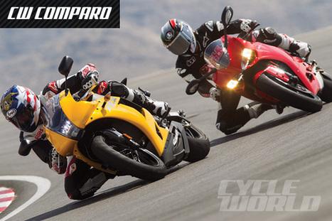 EBR 1190RX vs. Ducati 1199 Panigale Superbike Comparison Test Review | Ductalk Ducati News | Scoop.it