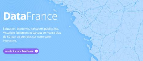 @DataFrance : Plateforme de visualisation de données ouvertes | #opendata #dataviz | Public Datasets - Open Data - | Scoop.it